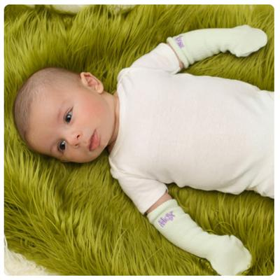 Woombie Mox Mittens - Lemon/Light Green 2PK