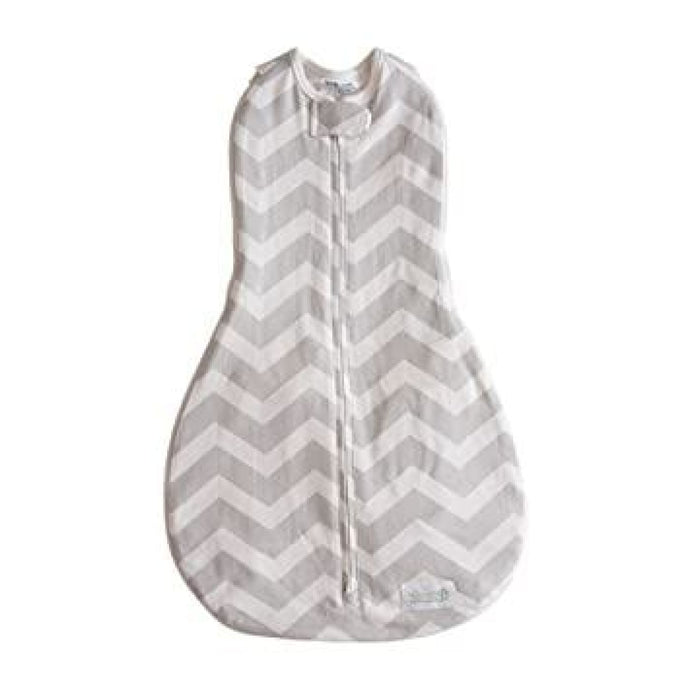 Woombie Grow With Me 5 Leggies - Grey Chevron 0-18M