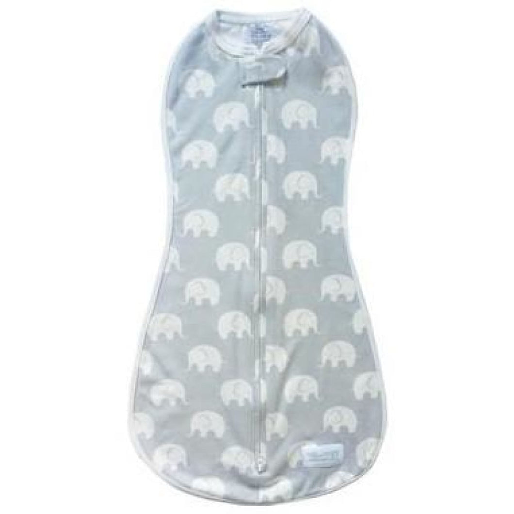 Woombie Original - Dusty Elephant Newborn 0-3M/2.5-6KG