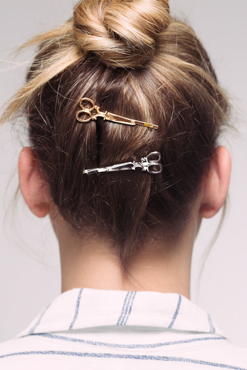 Love Scissors Hair Clip