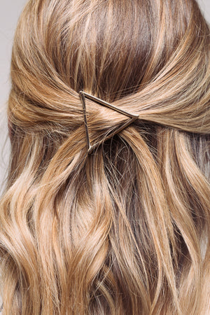 Love Triangle Hair Clip