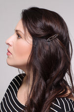 Love Safety Pin Hair Clip