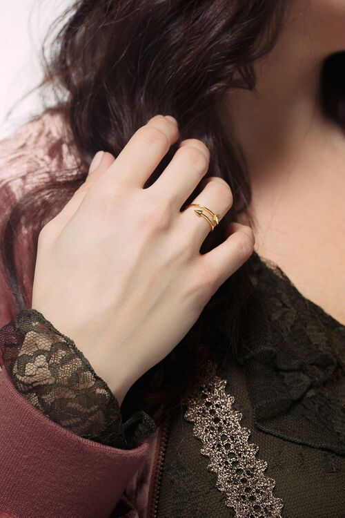 Love Arrow Ring