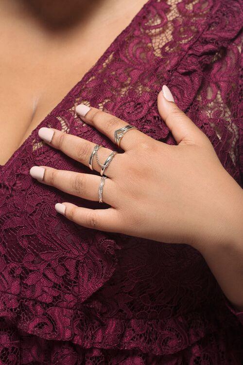 Love Boho Stacking Ring Set