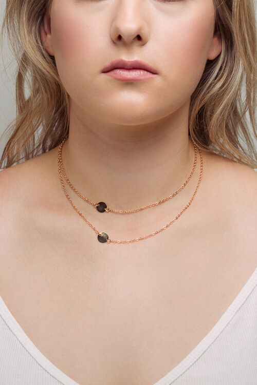 Love Gold Plated Choker Necklace