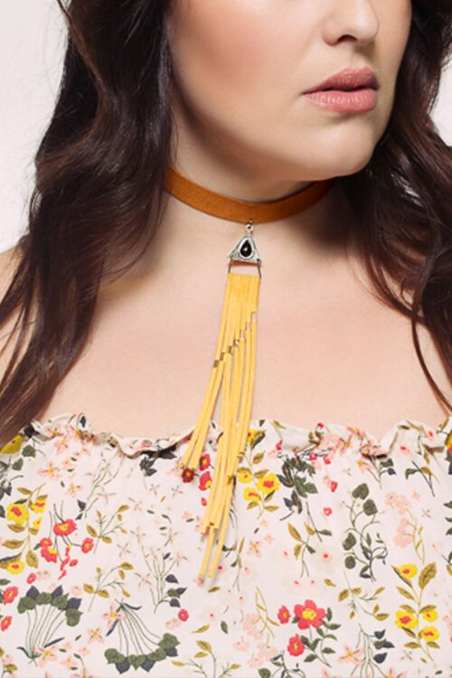 Love Fringed Choker