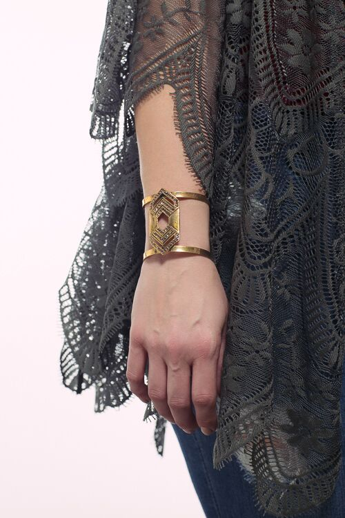 Love Gypsy Open Cuff Bracelet