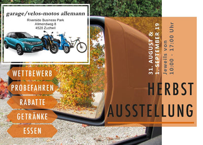 Herbstausstellung 31. August/01. September