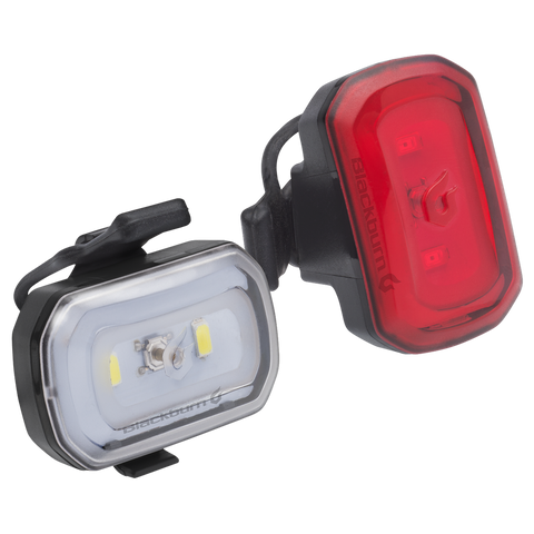 CLICK USB front and rear light Set