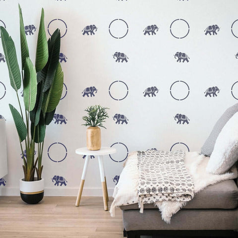 Family Room Stencils