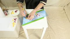 table stenciling