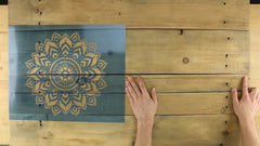 easy DIY wooden wall art project