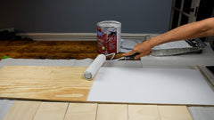 painting the board