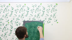 Repeating stencil patterns