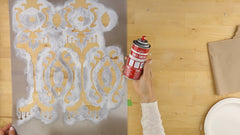 how to use a stencil template