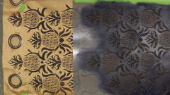 Repositioning the stencil template