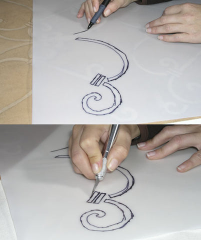 Cut your Own Stencils with this material