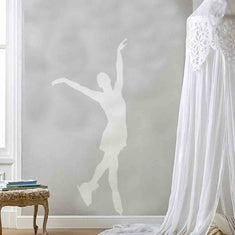 Figure Skater on Wall