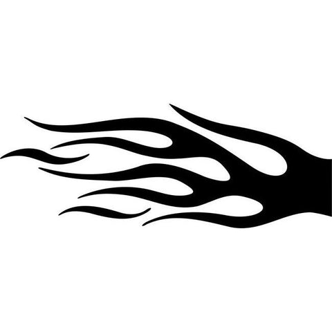 Igniting Flame Stencil