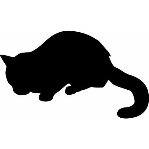 Lounging Cat Stencil