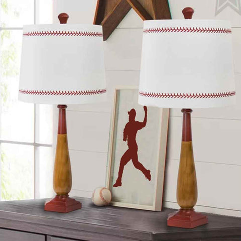Baseball Player Sports Figure Stencils