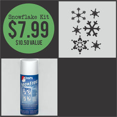 Snowflakes Craft Kit