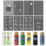 Teacher Appreciation 8 Piece Stencil Kit