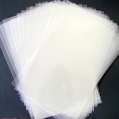 Blank Mylar Low Tack Adhesive Backed Stencil 4 mil Sheets