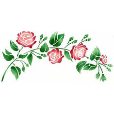 Heirloom Rose Stencil