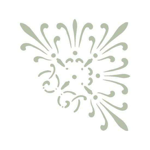 Amiens French Heritage Accent Corner Stencil