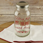 You Fill My Heart with Love Wall Stencil