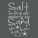 Salt in the Air Wall Stencil