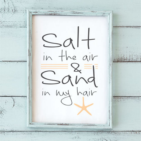 Salt in the Air Stencil