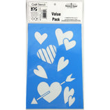 Love Craft Stencil 3pc Kit