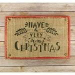 Very Merry Christmas Holiday Craft Stencil
