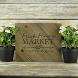 Flower Market Mini Craft Stencils