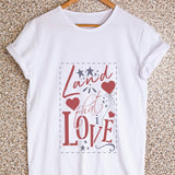 Land That I Love Stencil T-shirt