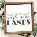 Wash Your Hands Craft Stencil