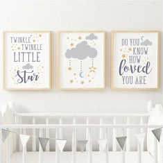 Twinkle Twinkle Little Star 3 Piece Stencil Set