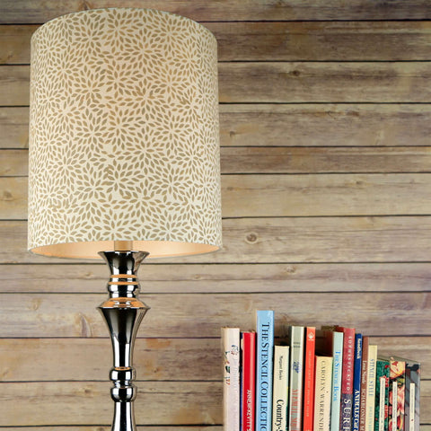 Abstract Foliage Lamp Shade Stencils