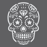 Sugar Skull Mini Craft Stencil