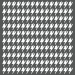 Tisbury Houndstooth Wall Stencil