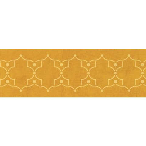 Iron Lattice Border Stencil
