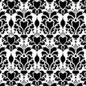 Hillsborough Damask Wall Stencil