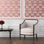 Hillsborough Damask Wall Stencils