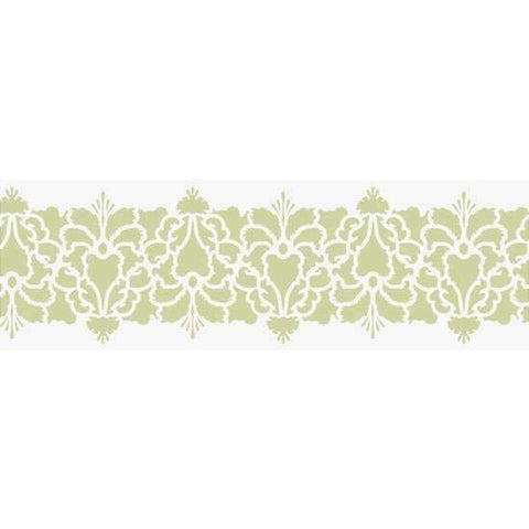 Hillsborough Damask Border Stencil