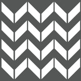 Chevron Wall Stencil