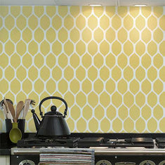 Lemonesque Wall Painting Stencil Room