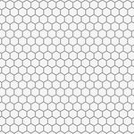 Hex Tile Wall Painting Stencil