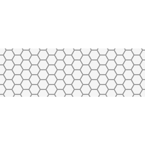Hexagon Tile Border Stencil